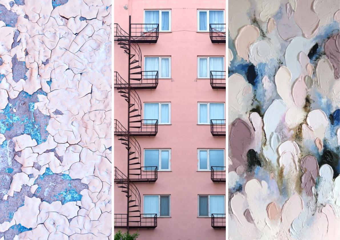 Pantone collage